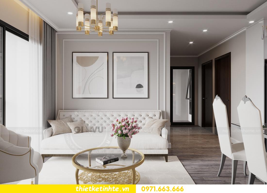 thiết kế nội thất Smart City tòa S2.02 căn hộ 5B nhà chị Hà 5