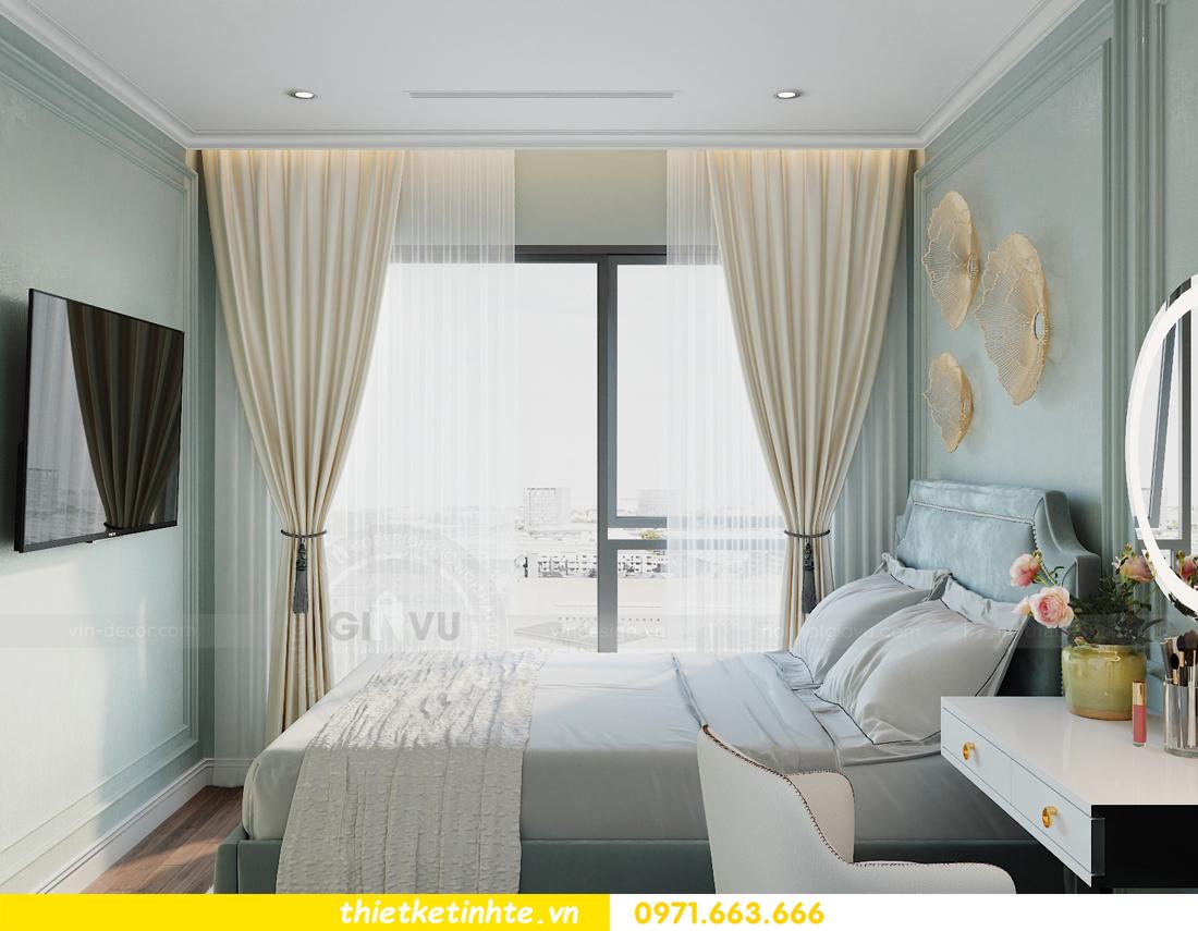 thiết kế nội thất Smart City tòa S2.02 căn hộ 5B nhà chị Hà 8