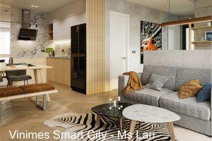 Thi Công Nội Thất Căn Hộ Smart City Tòa S202 Căn 08 Chị Lan
