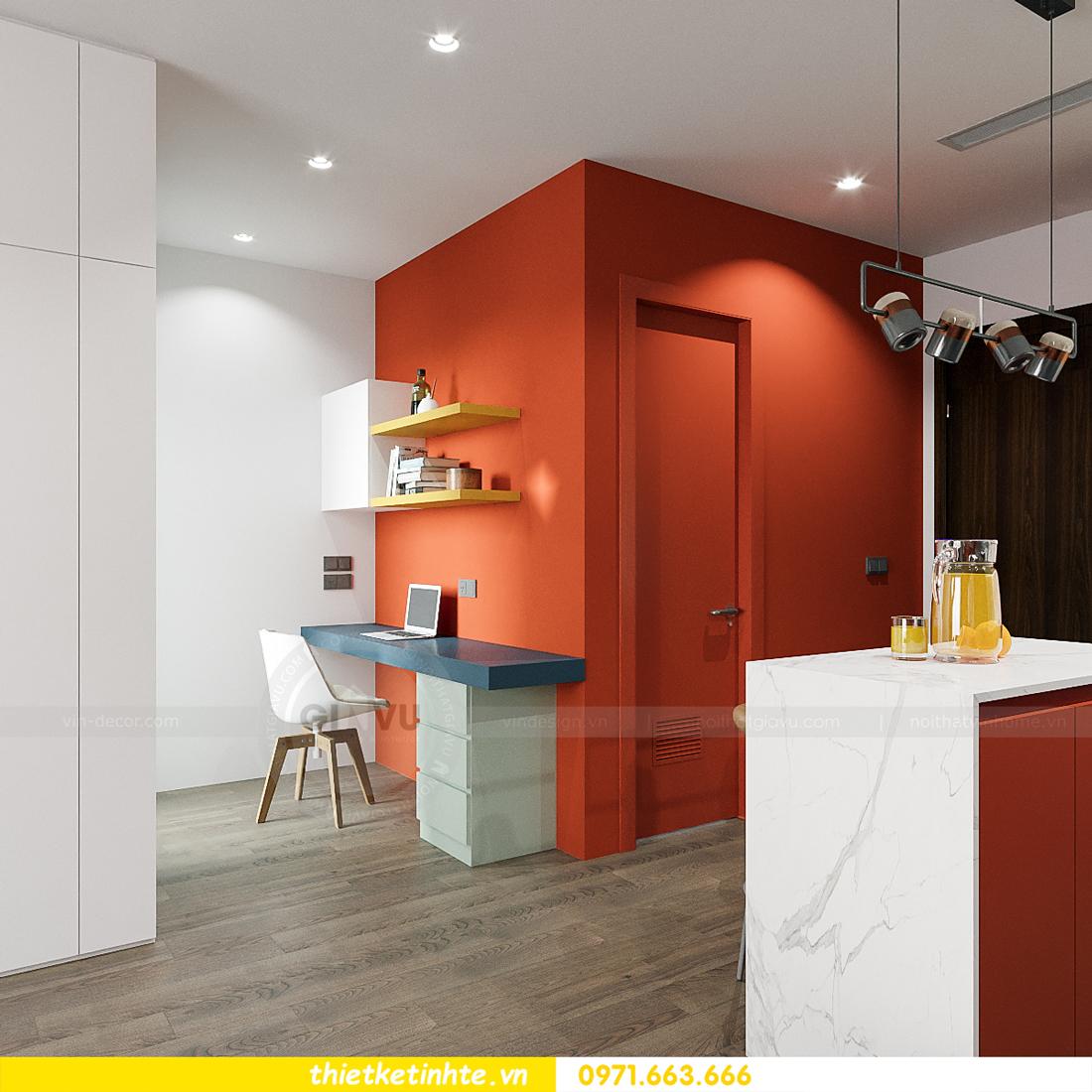 thiết kế nội thất căn hộ Studio tại Vinhomes Smart City 6