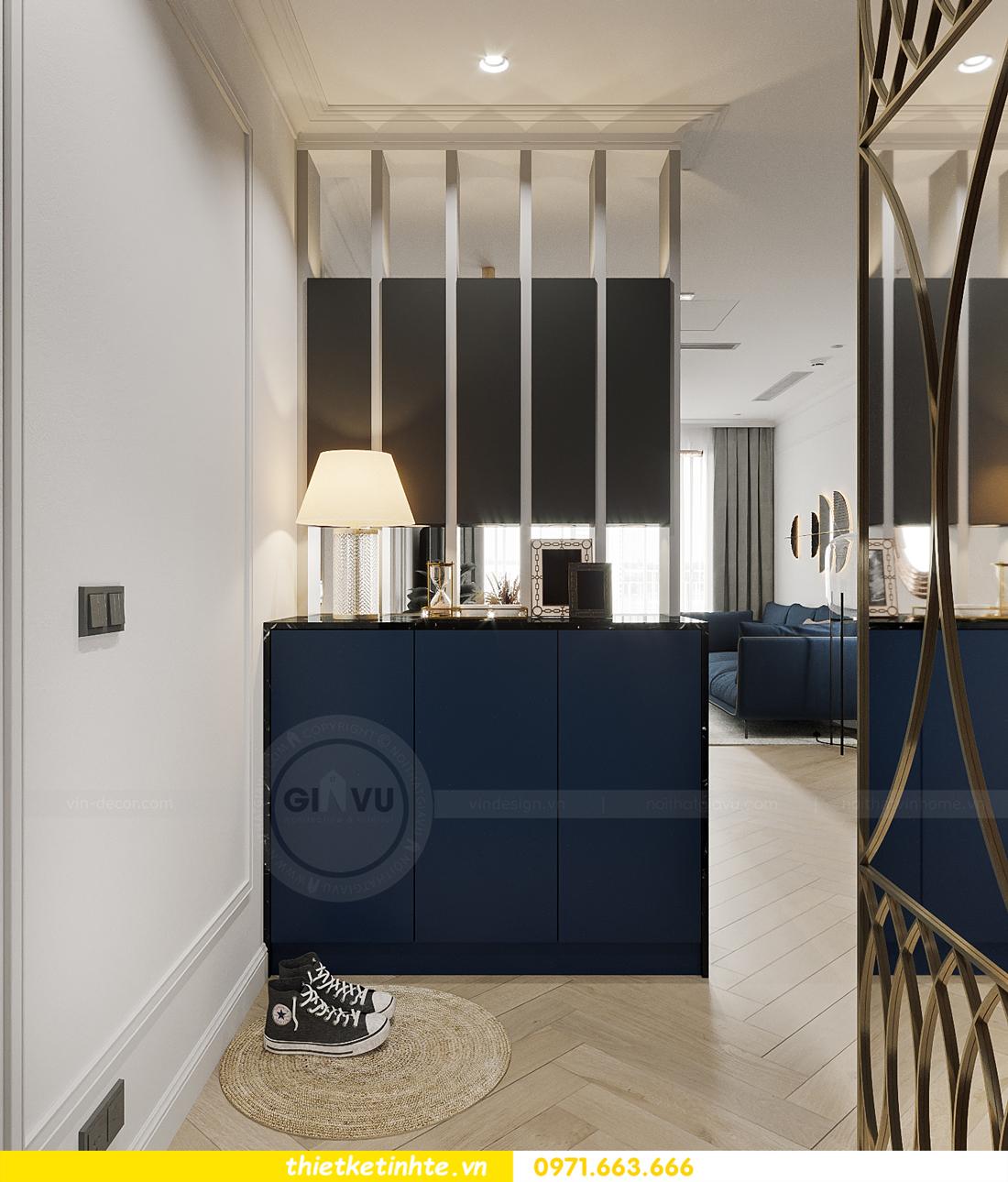 thiết kế nội thất chung cư Smart City tòa S102 căn 17 chị Hà 1