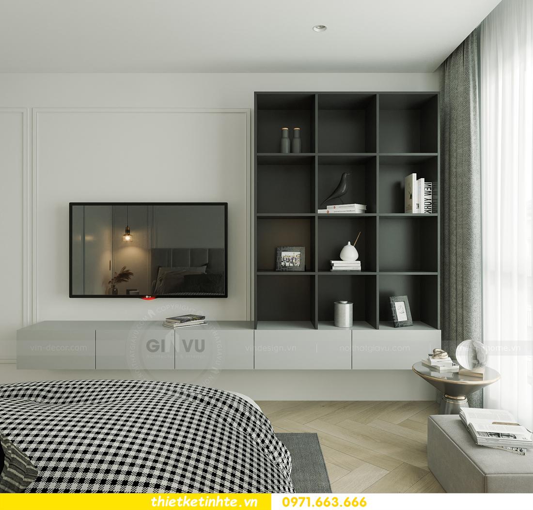 thiết kế nội thất chung cư Smart City tòa S102 căn 17 chị Hà 10