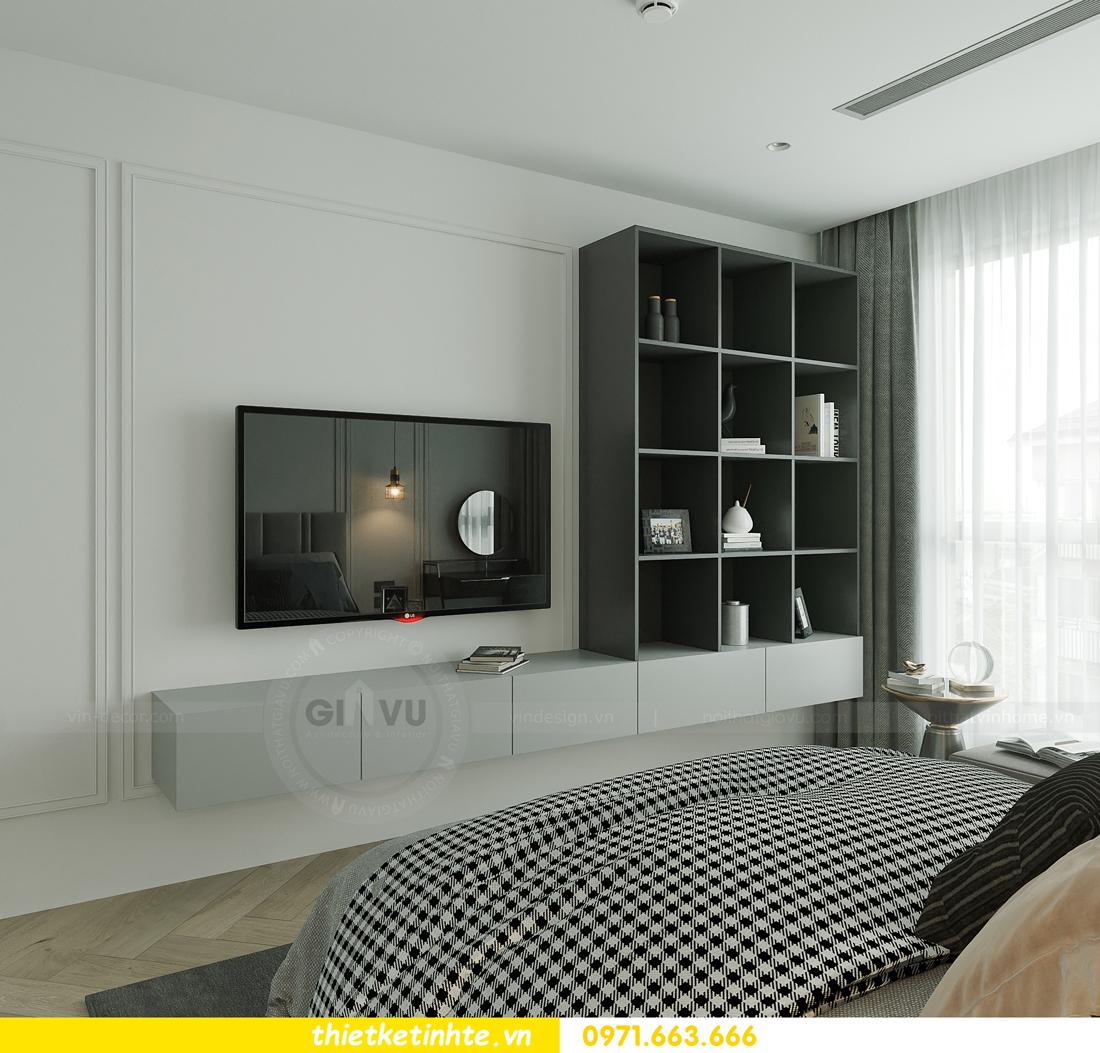 thiết kế nội thất chung cư Smart City tòa S102 căn 17 chị Hà 11