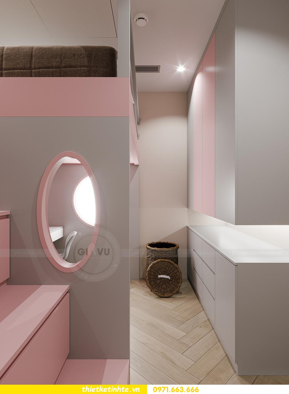 thiết kế nội thất chung cư Smart City tòa S102 căn 17 chị Hà 14