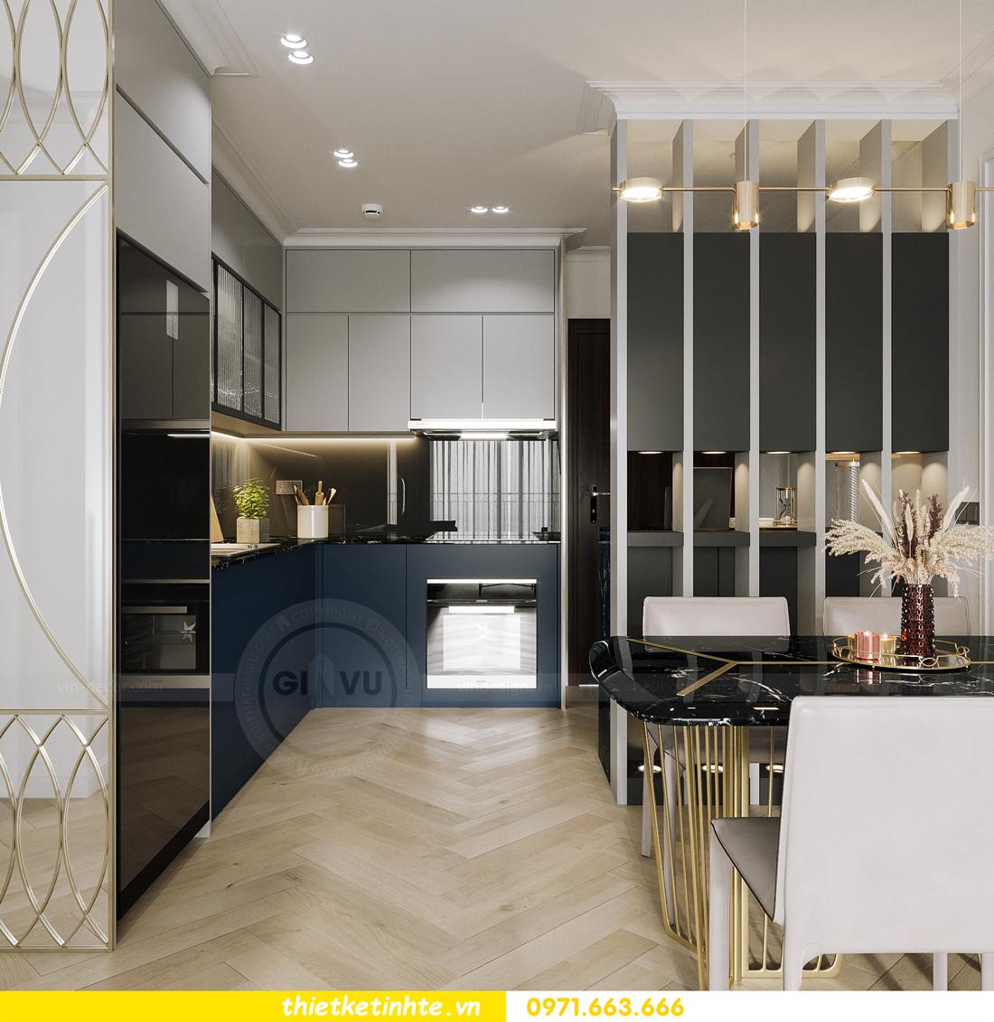 thiết kế nội thất chung cư Smart City tòa S102 căn 17 chị Hà 2