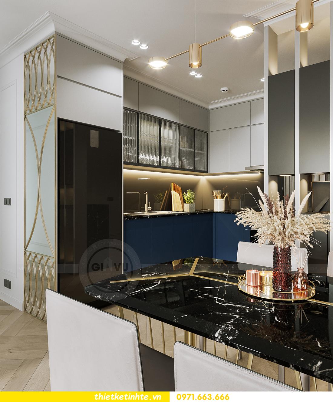 thiết kế nội thất chung cư Smart City tòa S102 căn 17 chị Hà 3
