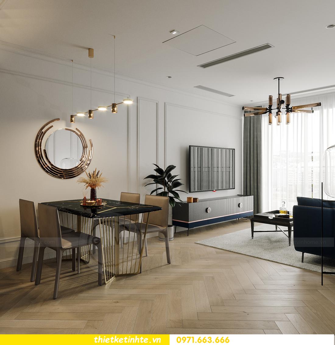 thiết kế nội thất chung cư Smart City tòa S102 căn 17 chị Hà 5
