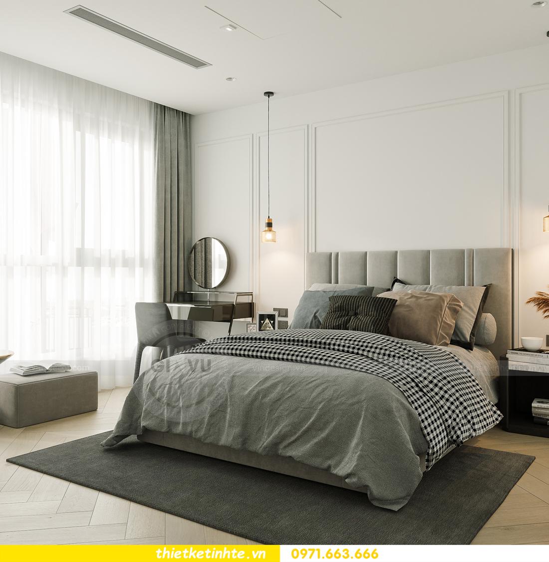 thiết kế nội thất chung cư Smart City tòa S102 căn 17 chị Hà 8