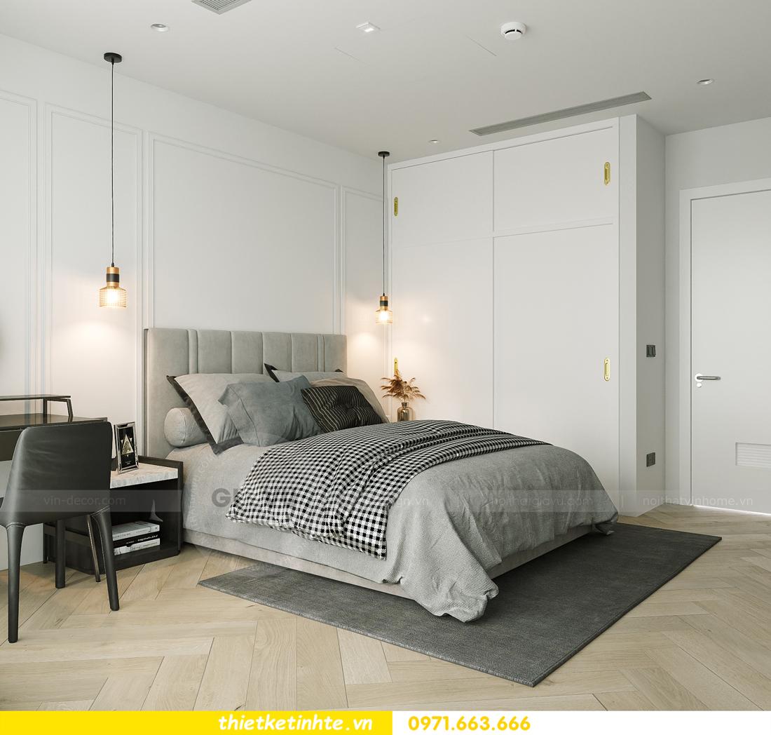 thiết kế nội thất chung cư Smart City tòa S102 căn 17 chị Hà 9