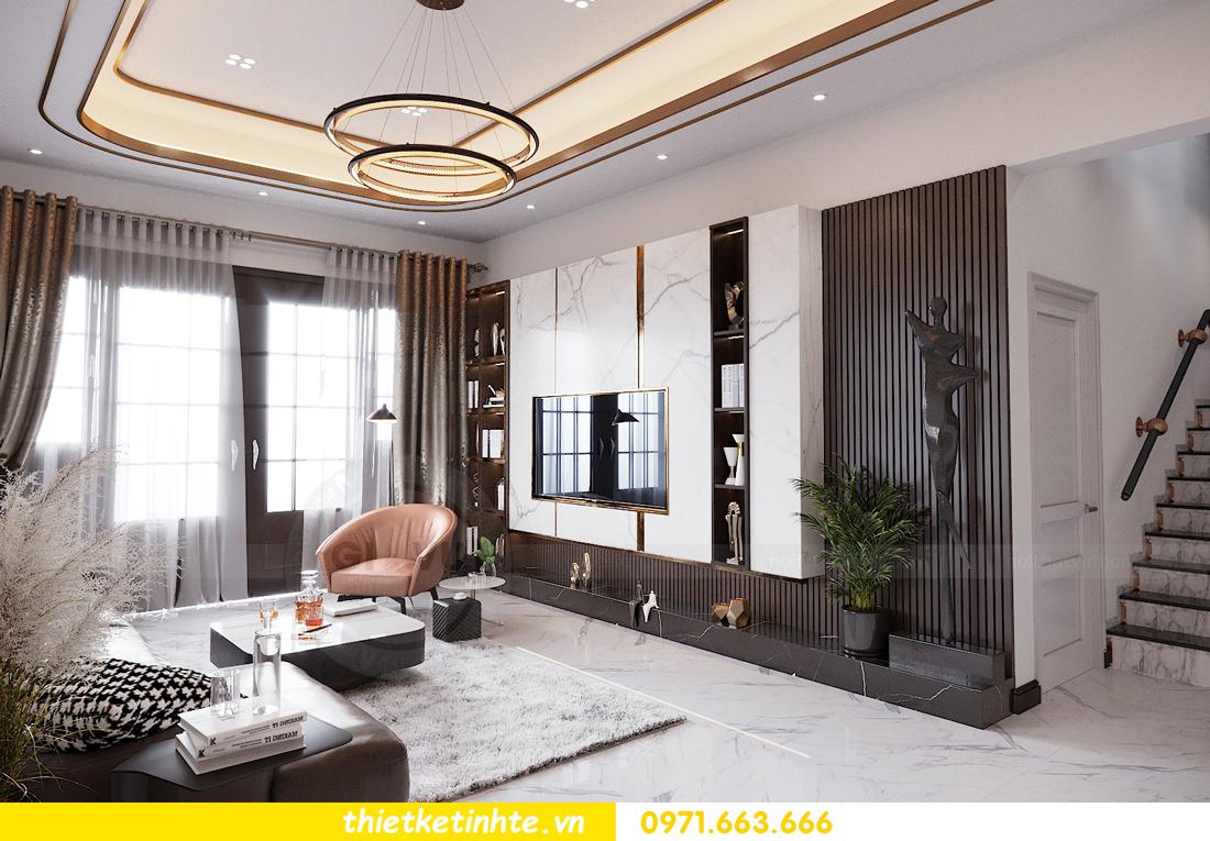 thiết kế nội thất nhà phố đẹp tại Hải Dương nhà chị Trinh 1