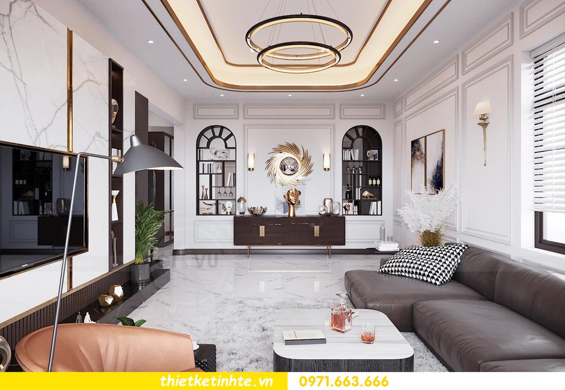 thiết kế nội thất nhà phố đẹp tại Hải Dương nhà chị Trinh 2