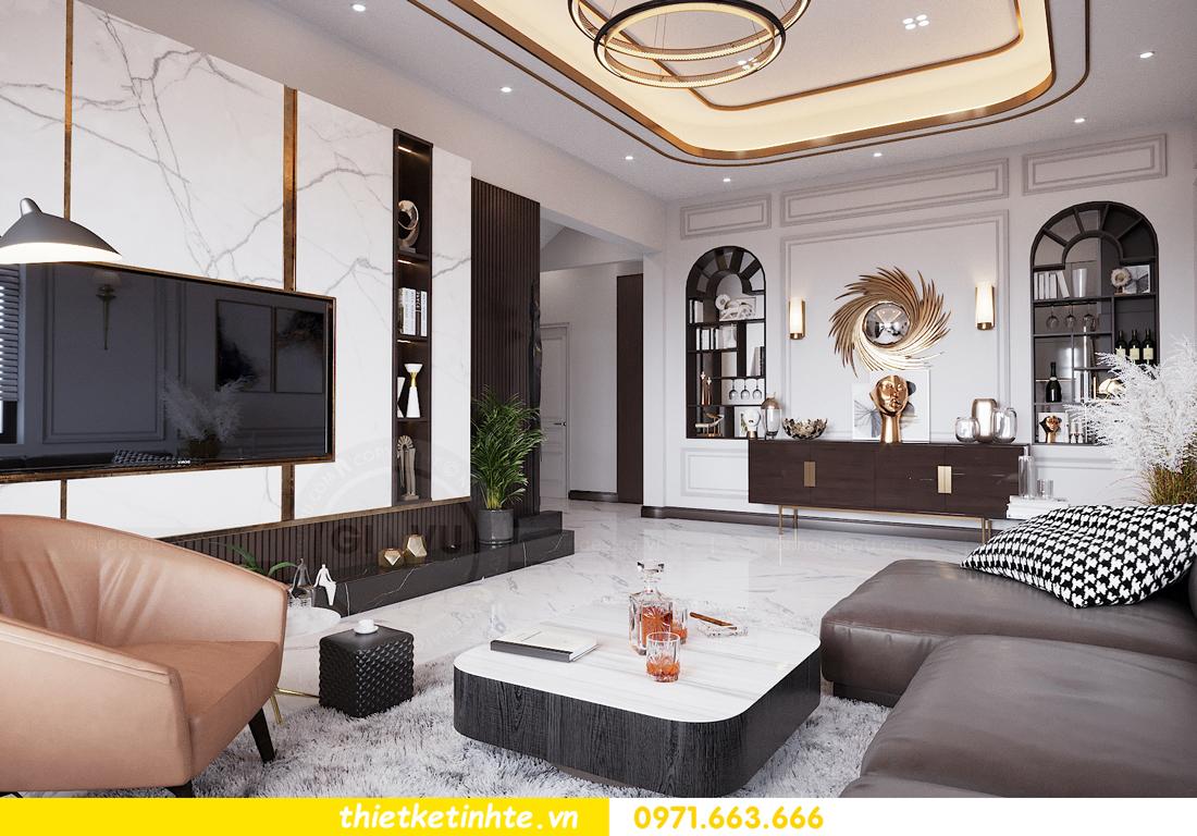 thiết kế nội thất nhà phố đẹp tại Hải Dương nhà chị Trinh 3