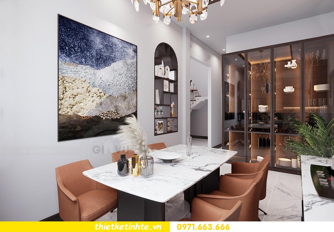 thiết kế nội thất nhà phố đẹp tại Hải Dương nhà chị Trinh 5