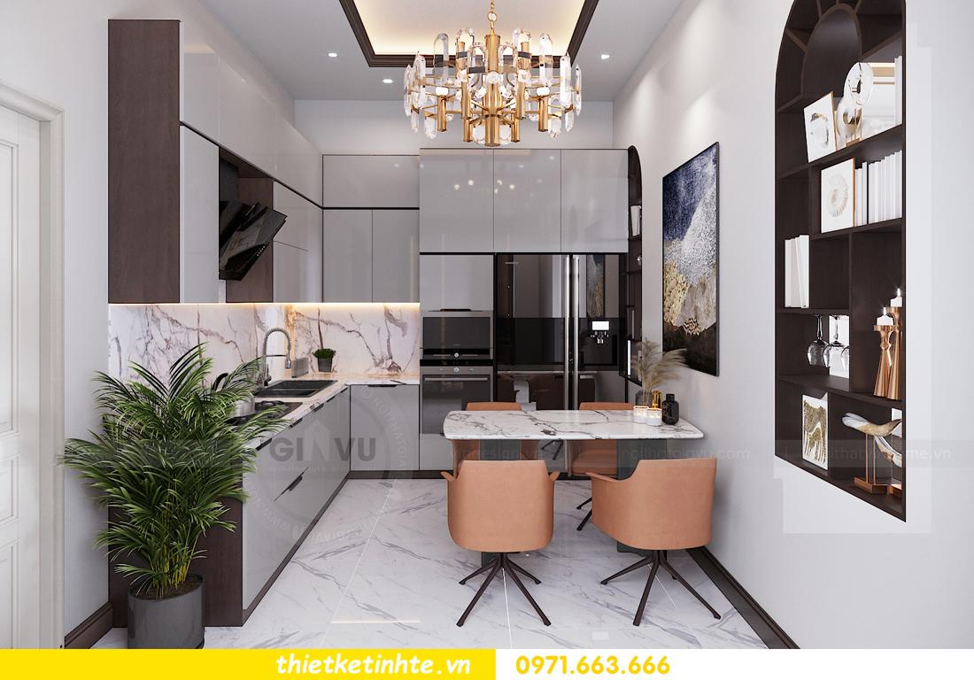 thiết kế nội thất nhà phố đẹp tại Hải Dương nhà chị Trinh 6