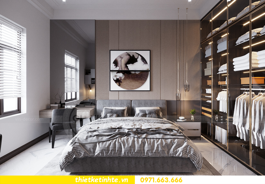 thiết kế nội thất nhà phố đẹp tại Hải Dương nhà chị Trinh 8