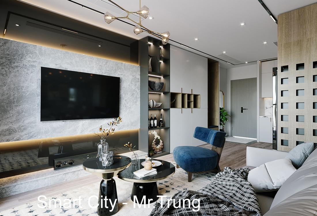 Thiết kế nội thất tòa S106 căn hộ 05 Vinhomes Smart City