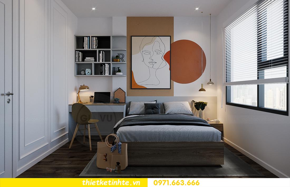 thiết kế thi công nội thất Smart City tòa S2.02 căn 12 16