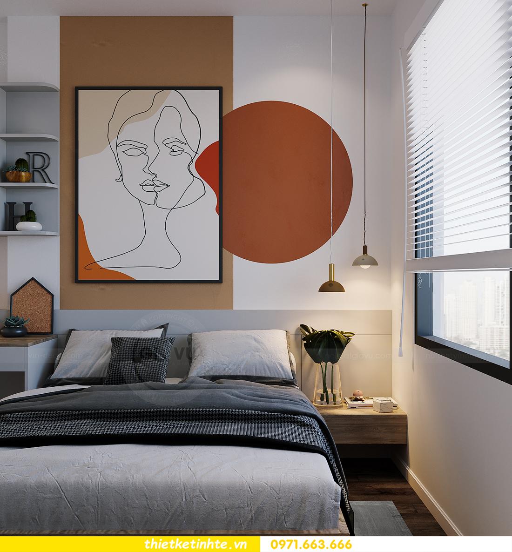 thiết kế thi công nội thất Smart City tòa S2.02 căn 12 18