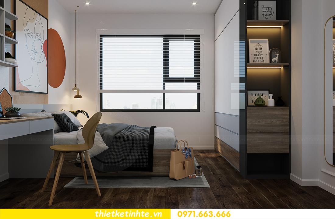 thiết kế thi công nội thất Smart City tòa S2.02 căn 12 19