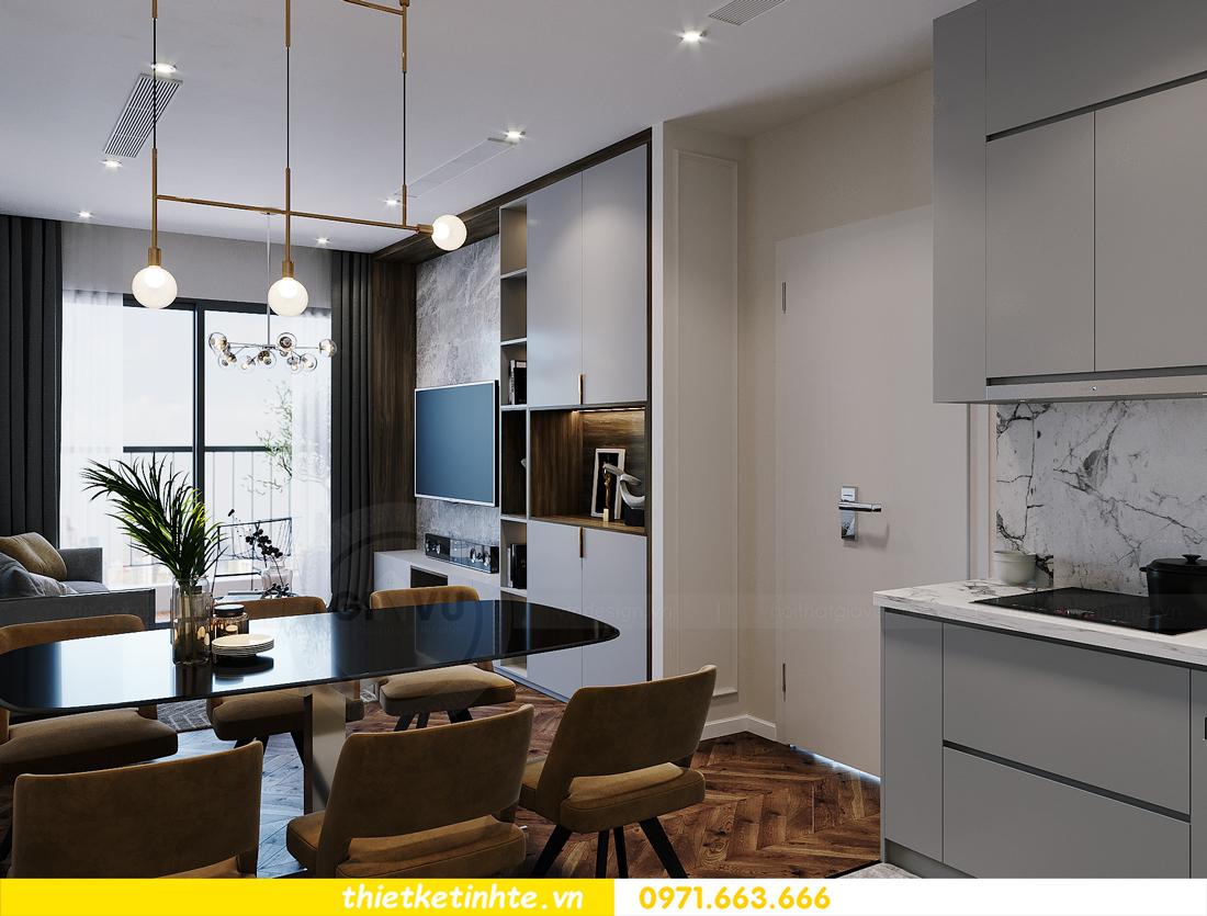 thiết kế thi công nội thất Smart City tòa S2.02 căn 12 4