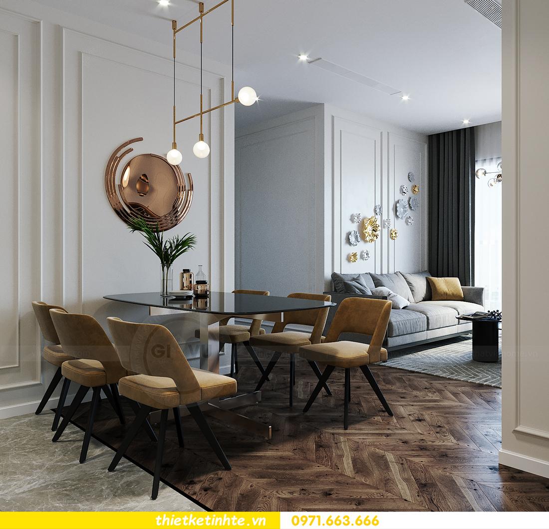 thiết kế thi công nội thất Smart City tòa S2.02 căn 12 5