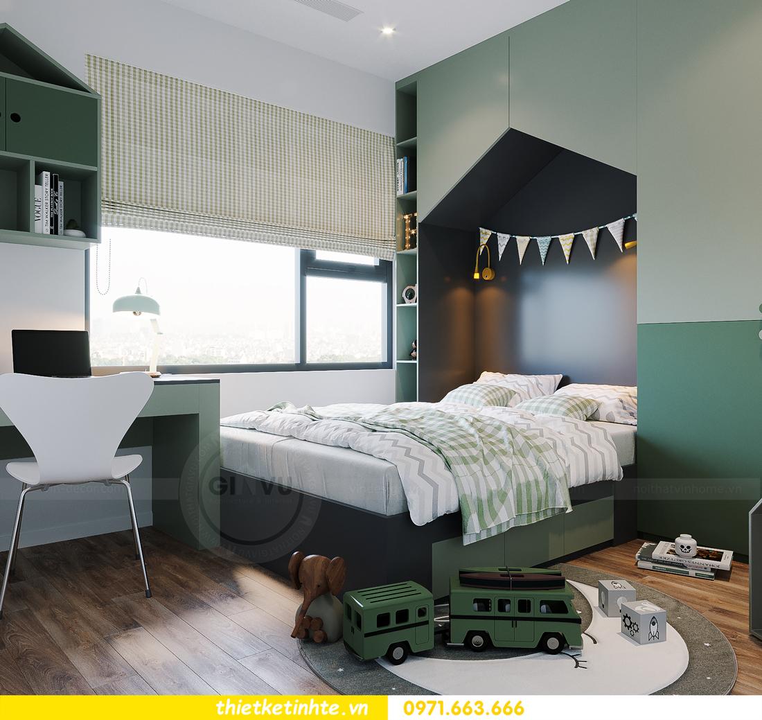 hoàn thiện nội thất Smart City tòa S202 căn hộ 12A 13