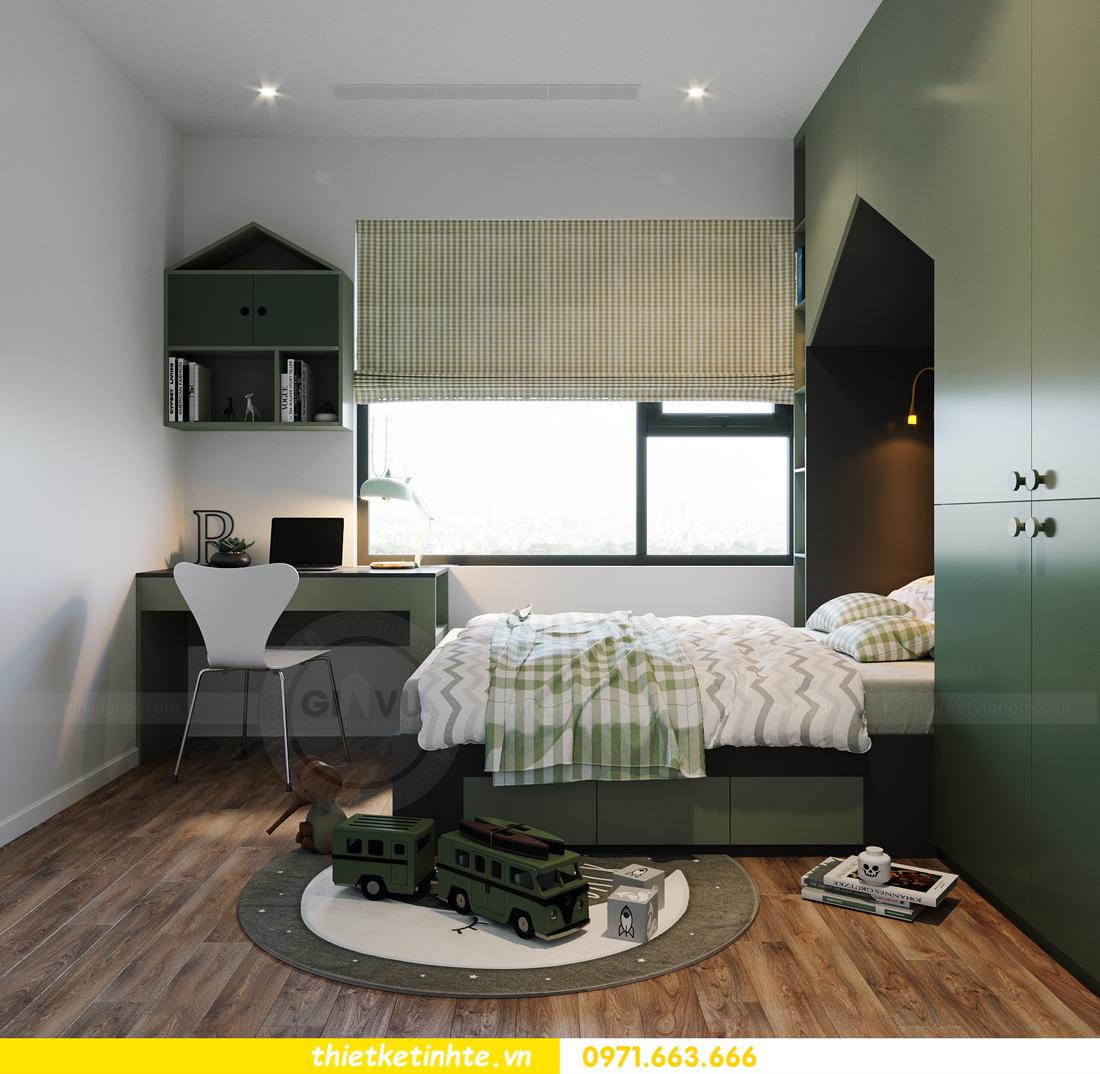 hoàn thiện nội thất Smart City tòa S202 căn hộ 12A 14