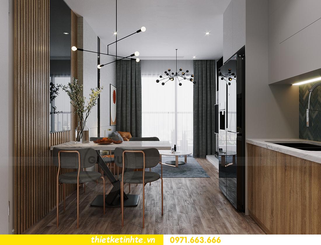 hoàn thiện nội thất Smart City tòa S202 căn hộ 12A 2