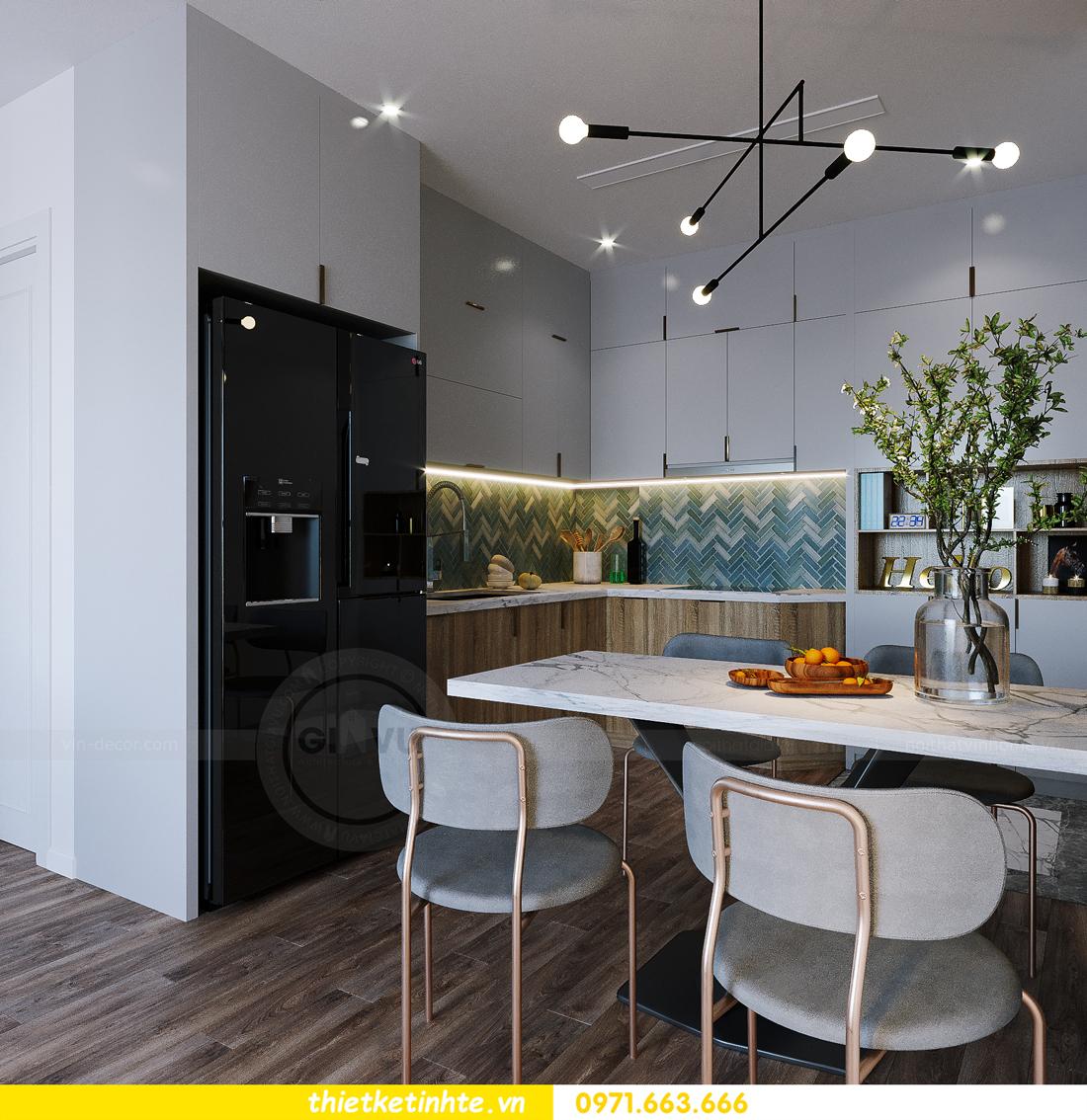hoàn thiện nội thất Smart City tòa S202 căn hộ 12A 3