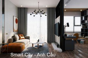 Hoàn Thiện Nội Thất Smart City Tòa S202 Căn Hộ 12A Anh Cầu