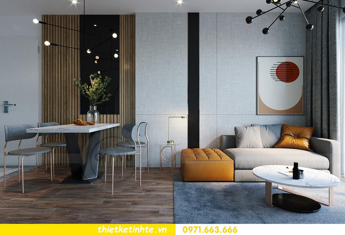 hoàn thiện nội thất Smart City tòa S202 căn hộ 12A 4