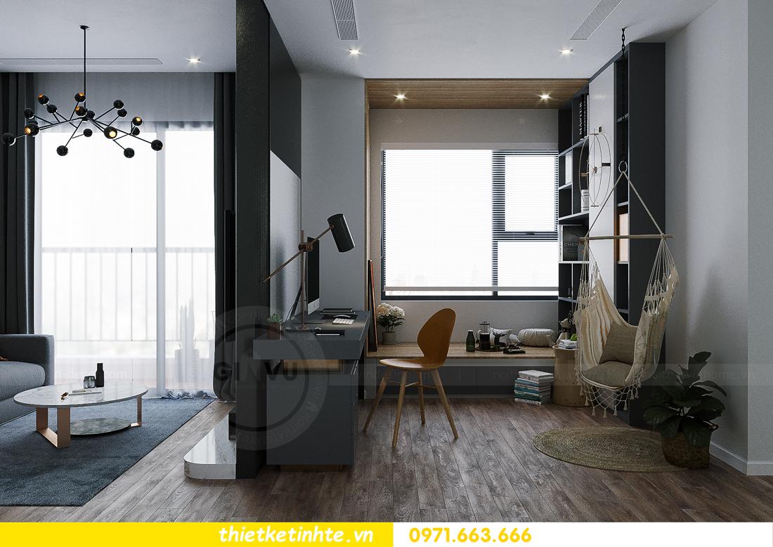 hoàn thiện nội thất Smart City tòa S202 căn hộ 12A 6