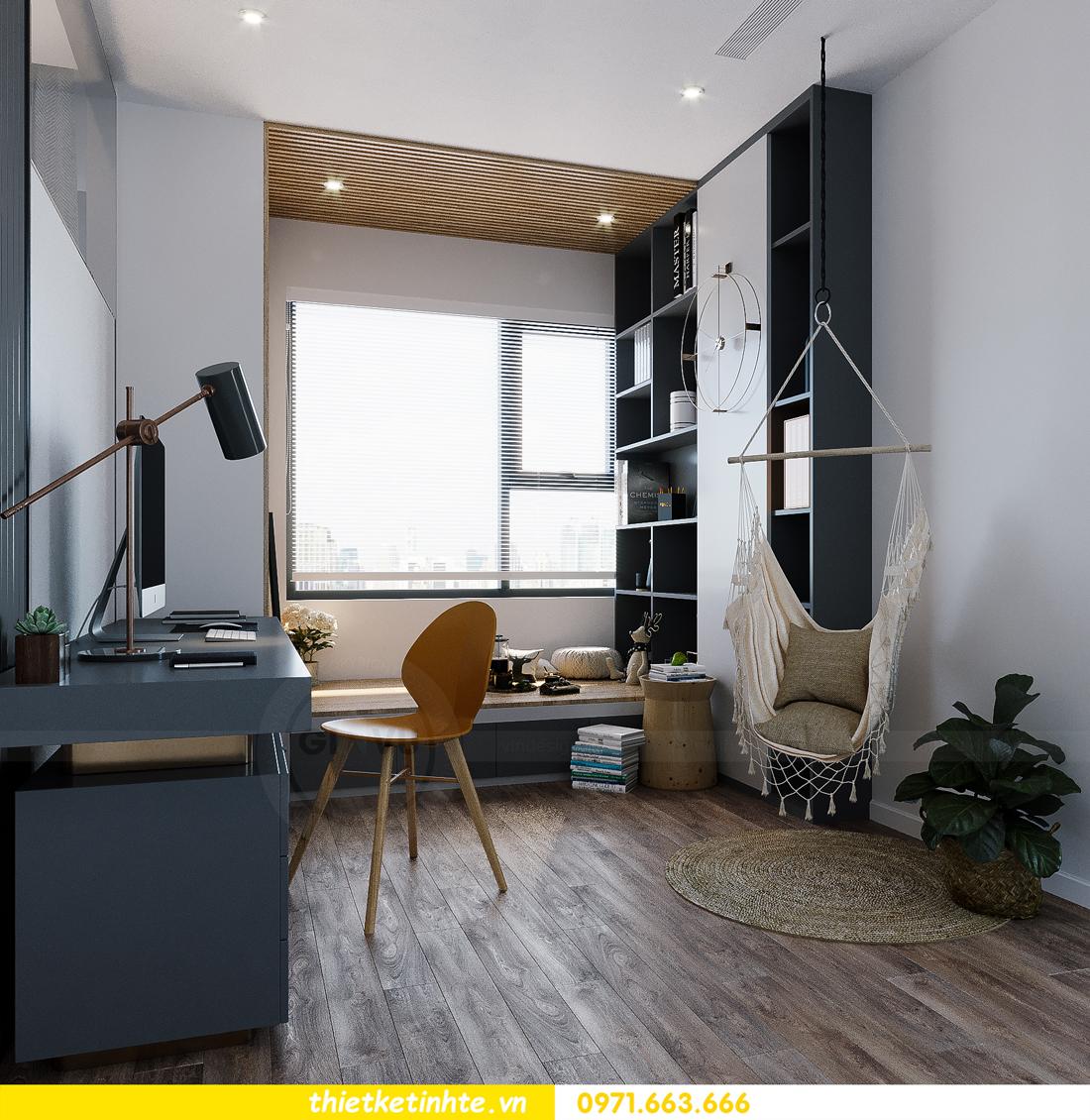 hoàn thiện nội thất Smart City tòa S202 căn hộ 12A 7