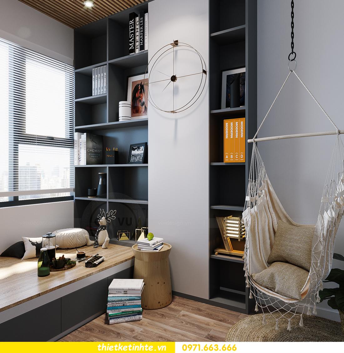 hoàn thiện nội thất Smart City tòa S202 căn hộ 12A 9