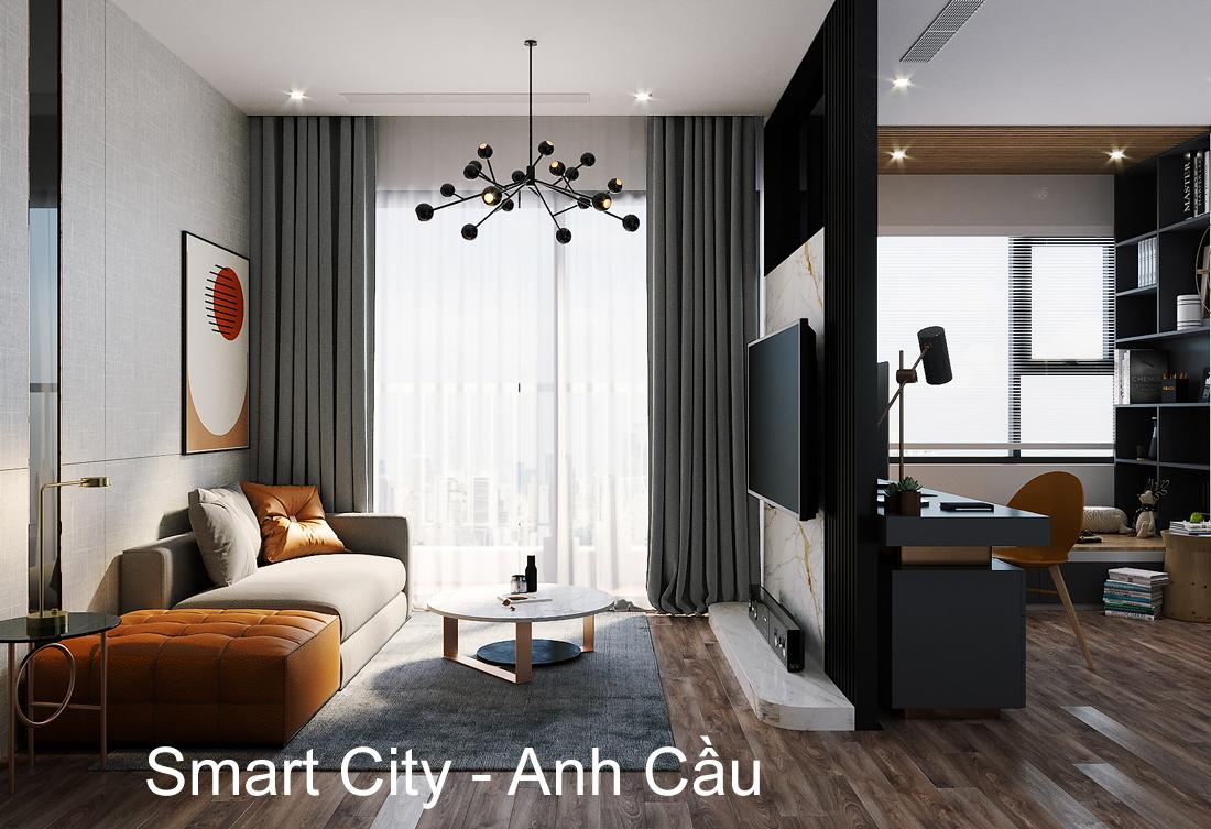Hoàn Thiện Nội Thất Smart City Tòa S202 Căn Hộ 12A – Anh Cầu