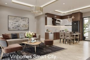 Mẫu Thiết Kế Nội Thất Căn Hộ Smart City Căn 3 Phòng Ngủ