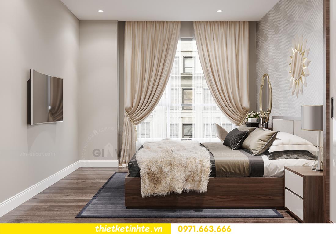 mẫu thiết kế nội thất căn hộ Smart City City căn hộ 3 phòng ngủ 6