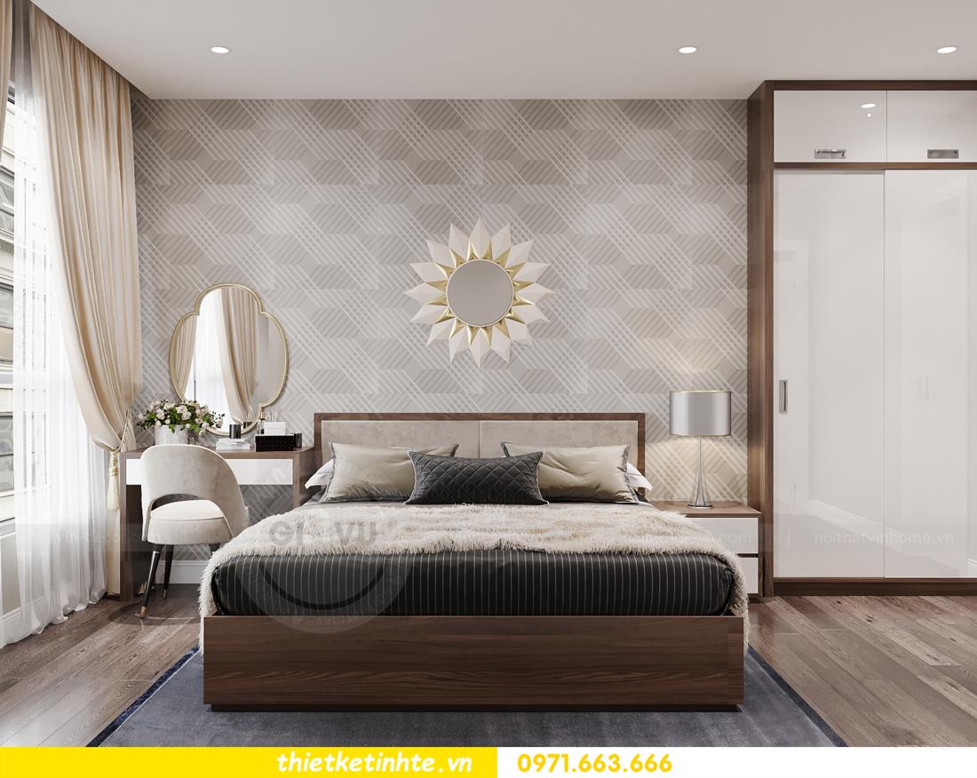 mẫu thiết kế nội thất căn hộ Smart City City căn hộ 3 phòng ngủ 7
