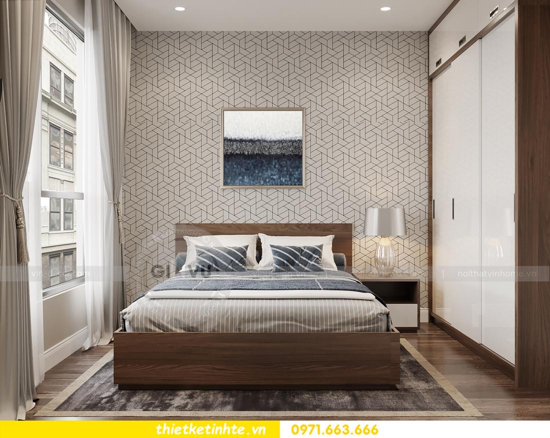 mẫu thiết kế nội thất căn hộ Smart City City căn hộ 3 phòng ngủ 8