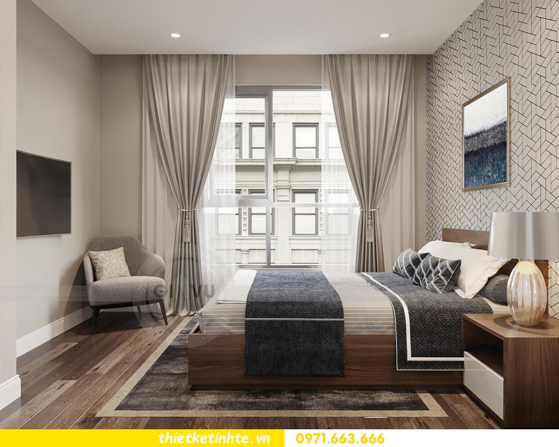 mẫu thiết kế nội thất căn hộ Smart City City căn hộ 3 phòng ngủ 9