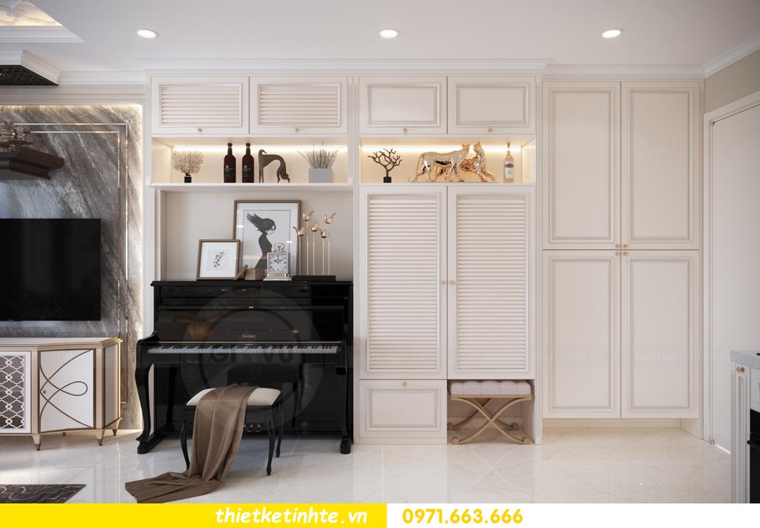 mẫu thiết kế nội thất căn hộ Smart City sang trọng, tiện nghi 1