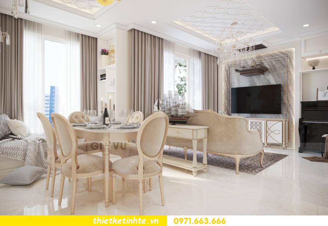 mẫu thiết kế nội thất căn hộ Smart City sang trọng, tiện nghi 4