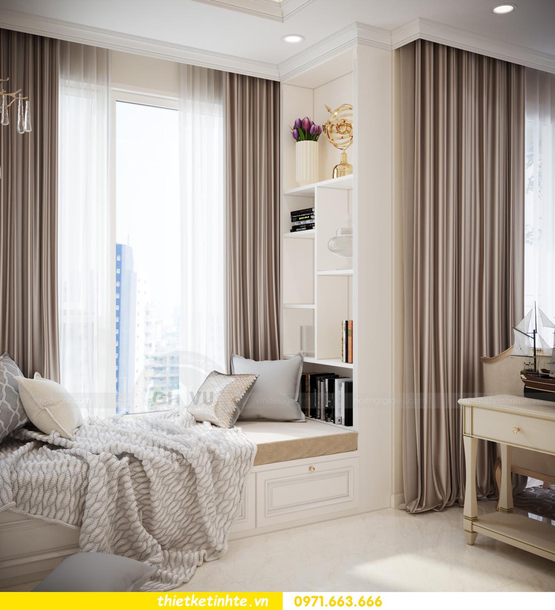 mẫu thiết kế nội thất căn hộ Smart City sang trọng, tiện nghi 5