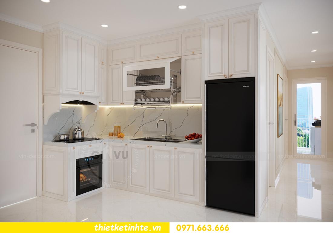 mẫu thiết kế nội thất căn hộ Smart City sang trọng, tiện nghi 6