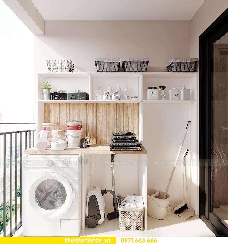 mẫu thiết kế nội thất căn hộ Smart City sang trọng, tiện nghi 7
