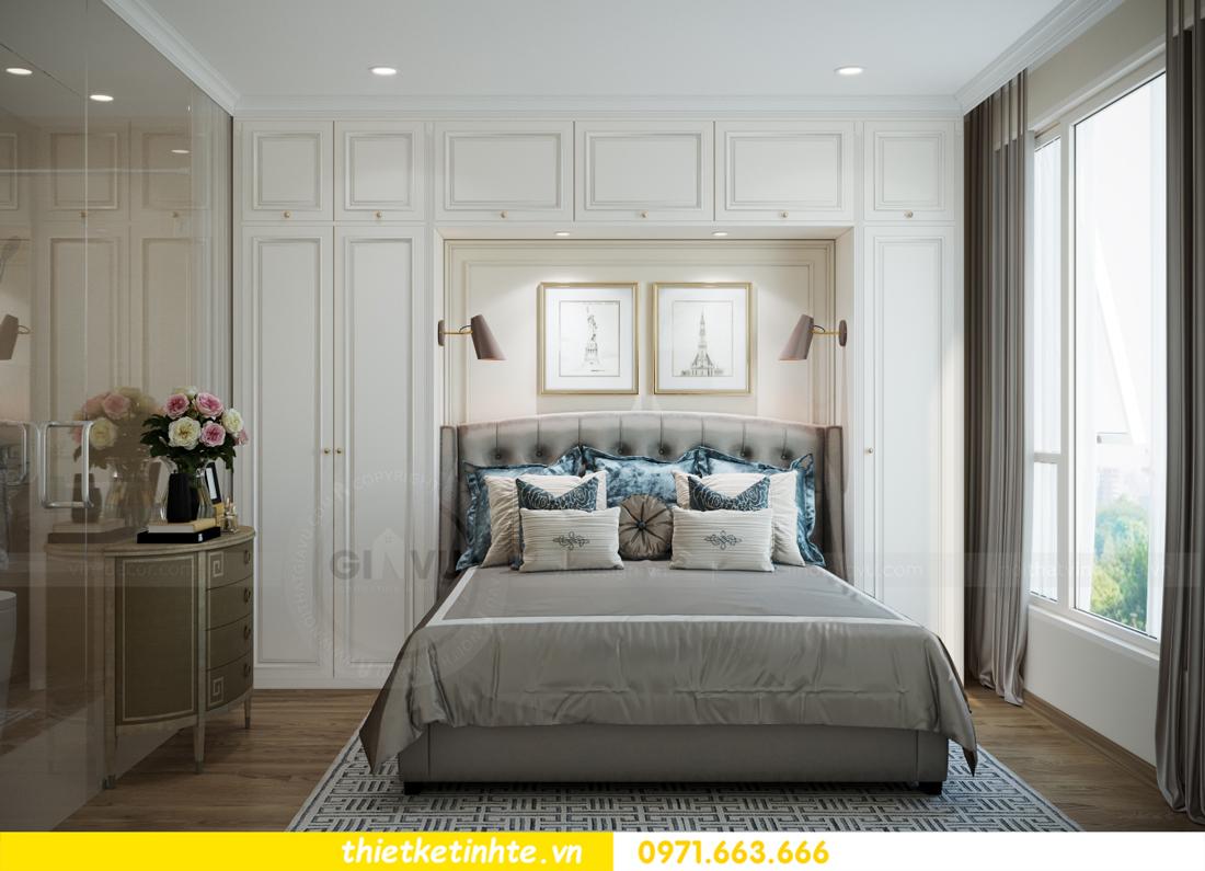 mẫu thiết kế nội thất căn hộ Smart City sang trọng, tiện nghi 8
