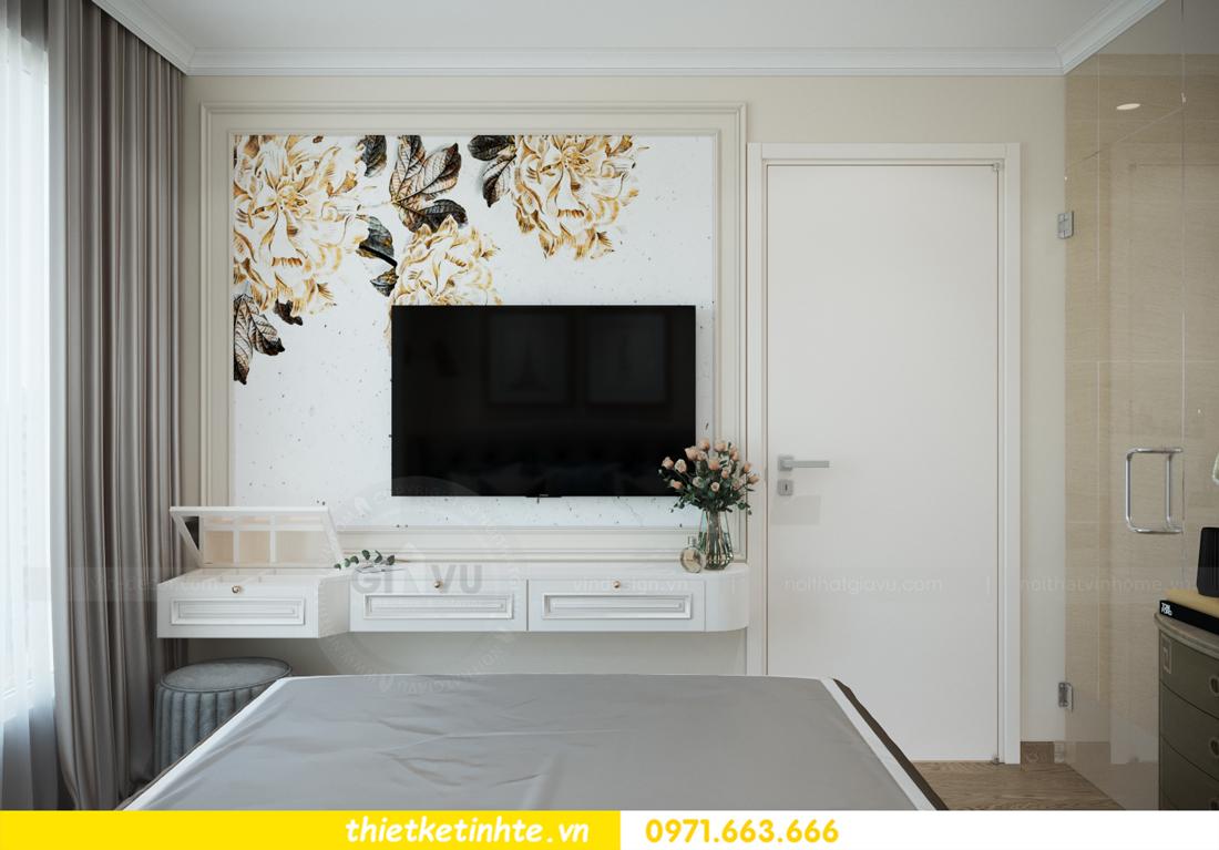 mẫu thiết kế nội thất căn hộ Smart City sang trọng, tiện nghi 9