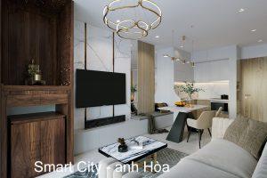 Nội Thất Chung Cư Vinhomes Smart City Tòa S201 Căn 2903 Anh Hòa