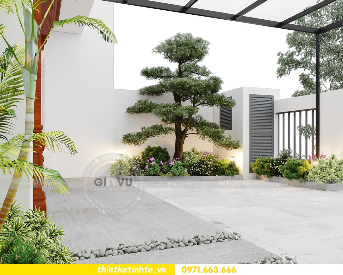 thiết kế nội thất biệt thự Gamuda nhà anh Đại 1