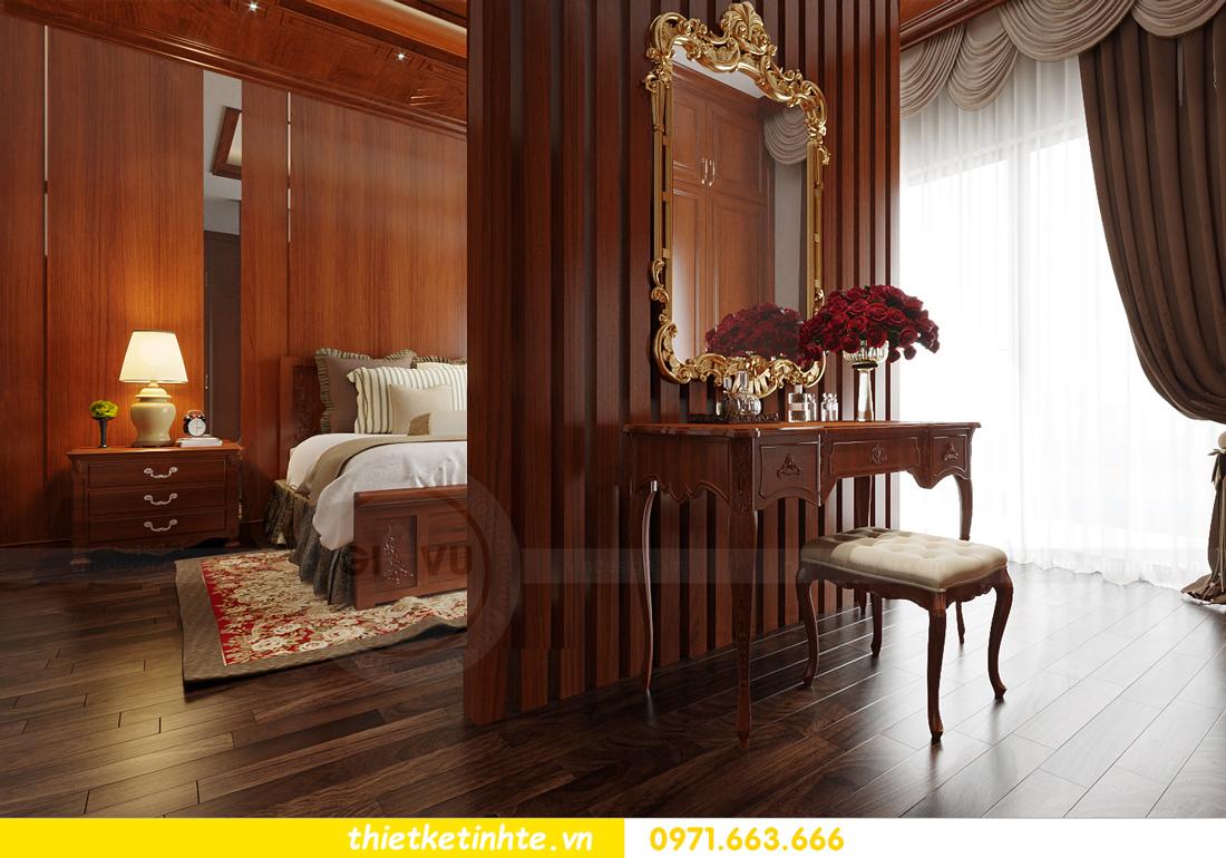 thiết kế nội thất biệt thự Gamuda nhà anh Đại 11